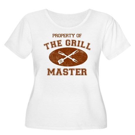 Property of Grill Master Women's Plus Size Scoop N