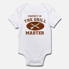 Property of Grill Master Infant Bodysuit