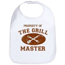 Property of Grill Master Bib