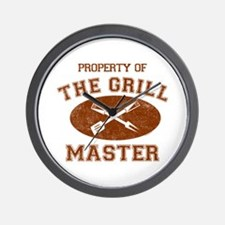Property of Grill Master Wall Clock
