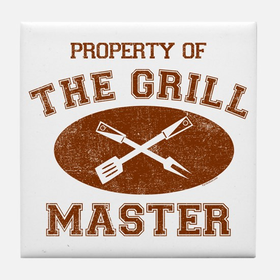 Property of Grill Master Tile Coaster