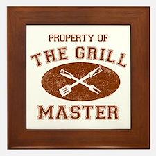 Property of Grill Master Framed Tile