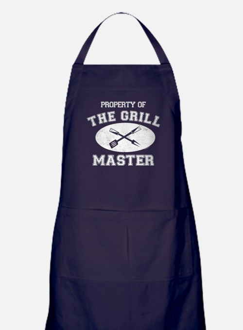 Property of Grill Master Apron (dark)