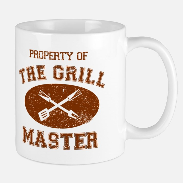 Property of Grill Master Mug
