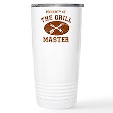 Property of Grill Master Travel Mug