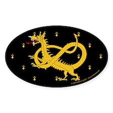 Dragon Watch Sticker (Oval)