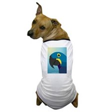Hyacinth Macaw Dog T-Shirt