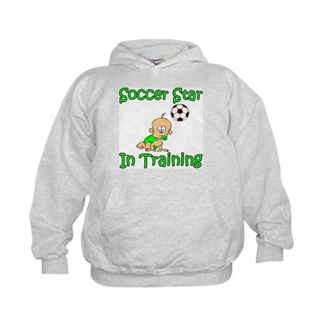 Soccer Star in Training Joshu Kids Hoodie