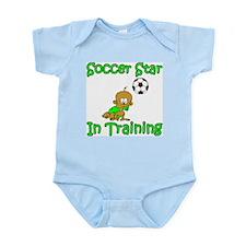Soccer Star in Training Ethan Infant Creeper