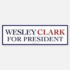 Wesley Clark for President Bumper Bumper Bumper Sticker