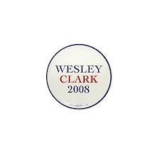 Wesley Clark 2008 Mini Button