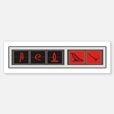 Lost Hatch Heiroglyphs Bumper Bumper Bumper Sticker