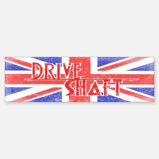 Drive Shaft British Flag Lost Bumper Bumper Bumper Sticker