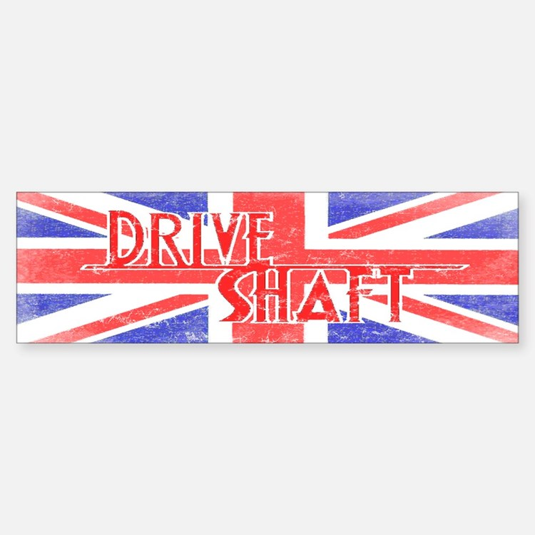 Drive Shaft British Flag Lost Bumper Bumper Bumper Sticker