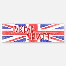 Drive Shaft British Flag Lost Bumper Car Car Sticker