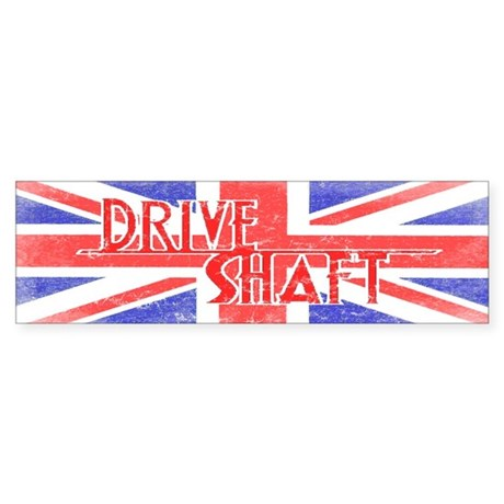 Drive Shaft British Flag Lost Bumper Sticker