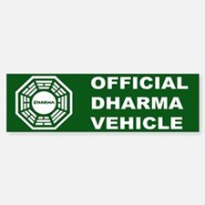 Official DHARMA Vehicle Lost Bumper Bumper Bumper Sticker