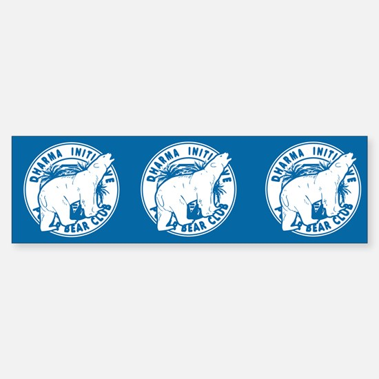 Dharma Initiative Polar Bear Club 3 Pk Stickers