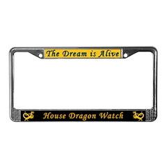 Dragon Watch License Plate Frame