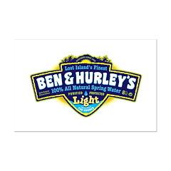 Ben & Hurley's Spring Water Posters