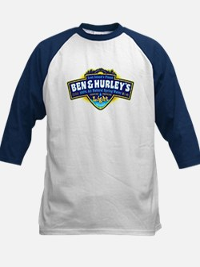 Ben & Hurley's Spring Water Kids Baseball Jersey
