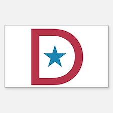 Deployment Flag D Decal