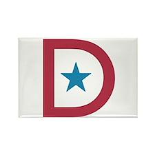 Deployment Flag D Rectangle Magnet (10 pack)