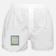 Wisconsin Stamp Boxer Shorts