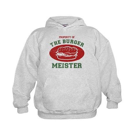 Property of Burger Meister Kids Hoodie