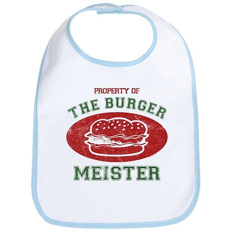 Property of Burger Meister Bib