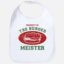 Property of Burger Meister Bib