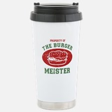 Property of Burger Meister Stainless Steel Travel