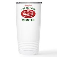 Property of Burger Meister Travel Mug