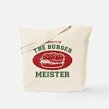 Property of Burger Meister Tote Bag