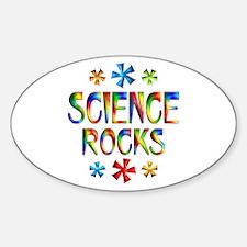 Science Sticker (Oval)