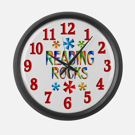 Reading Large Wall Clock