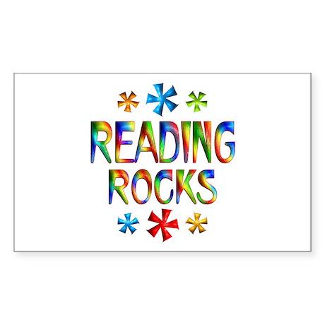 Reading Sticker (Rectangle)