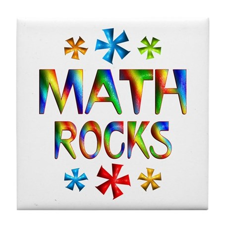 Math Tile Coaster