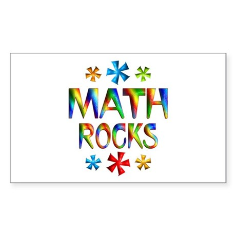 Math Sticker (Rectangle)