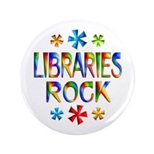 """Libraries 3.5"""" Button (100 pack)"""