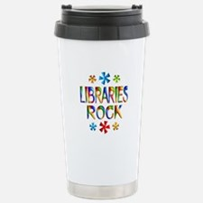 Libraries Travel Mug