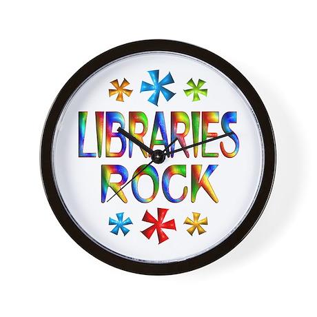 Libraries Wall Clock