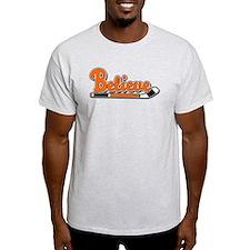Believe Orange Black!! T-Shirt