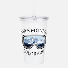 Eldora Mountain Resort Acrylic Double-wall Tumbler