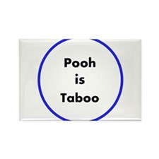 Poo is Taboo Rectangle Magnet