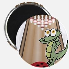 """Cute Bowling 2.25"""" Magnet (10 pack)"""