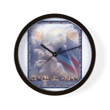 9-11 Wall Clock
