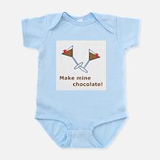 Make Mine Chocolate! Infant Creeper