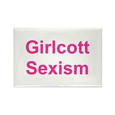 Cute Feminism Rectangle Magnet (100 pack)