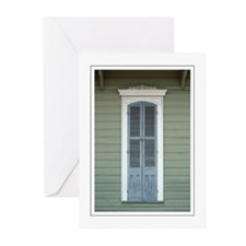 French Quarter Window Greeting Cards (Pk of 10)